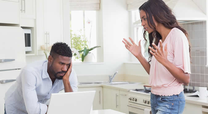 married couple considering divorce