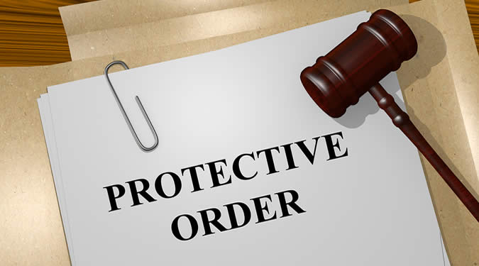 court ordered protective order