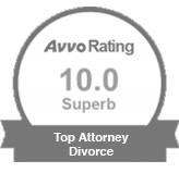 avvo rating 10.0 Superb | Top Attorney Divorce
