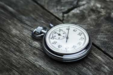 stopwatch for divorce